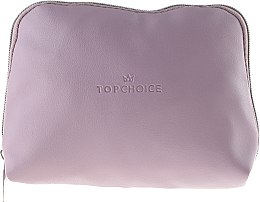"""Voňavky, Parfémy, kozmetika Kozmetická taška """"Leather"""", 96976, ružová - Top Choice"""