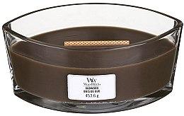 Voňavky, Parfémy, kozmetika Vonná sviečka v pohári - Woodwick Hearthwick Flame Ellipse Candle Oudwood