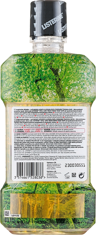 Ústna voda - Listerine Total Care Fresh Forest Elixir Bocal — Obrázky N2