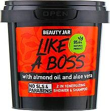"""Voňavky, Parfémy, kozmetika Šampónový sprchový gél """"Like A Boss"""" - Beauty Jar 2 in 1 Energizing Shower & Shampoo"""