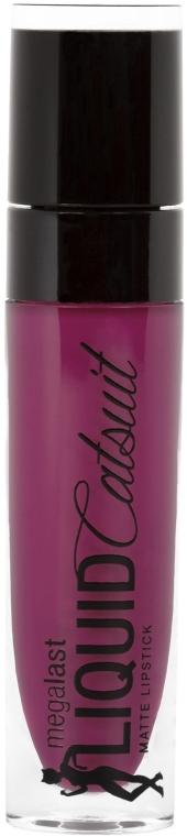 Tekutá matná rúž na pery - Wet N Wild MegaLast Liquid Catsuit Matte Lipstick