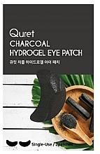Voňavky, Parfémy, kozmetika Náplasti pod oči - Quret Charcoal Hydrogel Eye Patch