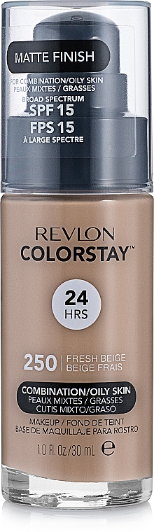 Tonálny krém - Revlon ColorStay for Combination/Oily Skin SPF 15