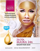 "Maska pre tvár ""Zlata"" - Czyste Piekno Gold Face Mask — Obrázky N1"