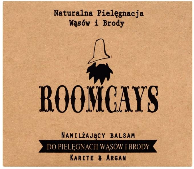 Balzam na fúzy a bradku s bambuckým maslom - Roomcays