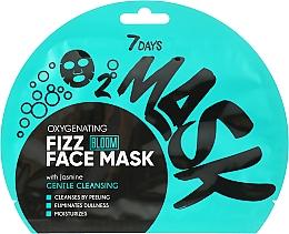 Voňavky, Parfémy, kozmetika Kyslíková šumivá maska na tvár - 7 Days Bloom Gentle Cleansing Mask