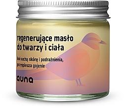 Voňavky, Parfémy, kozmetika Obnovujúci olej na tvár a telo - Auna Regenerating Face And Body Butter
