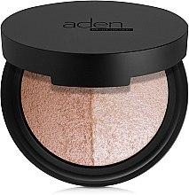 Voňavky, Parfémy, kozmetika Tvárová paleta - Aden Cosmetics Highlighter & Bronzer Duo
