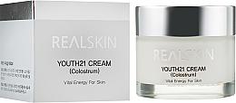 Voňavky, Parfémy, kozmetika Krém na tvár s bieliacim účinkom - Real Skin Youth 21 Cream Colostrum