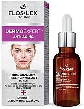 Voňavky, Parfémy, kozmetika Omladzujúce kyslé nočné peeling na tváre - Floslek Dermo Expert Anti Aging Peeling