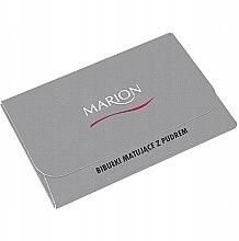 Voňavky, Parfémy, kozmetika Zmatňujúce utierky na tvár, 50ks - Marion Mat Express Oil Control Paper
