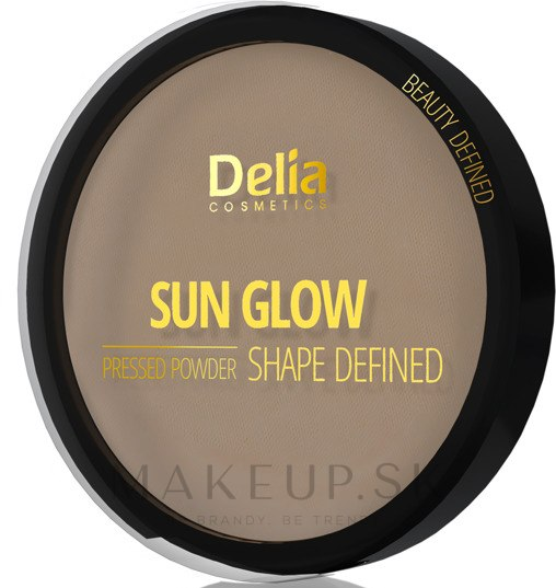 Kompaktný púder - Delia Shape Defined Sun Glow — Obrázky 402 - Brunette
