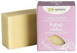 Voňavky, Parfémy, kozmetika Mydlo s extraktom z lipy a malvy - La Saponaria Linden and Mallow Soap