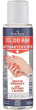 Voňavky, Parfémy, kozmetika Antibakteriálny gél na ruky - Simple Beauty Antibacterial Hand Gel