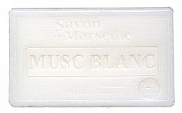 """Voňavky, Parfémy, kozmetika Mydlo """"White Musk"""" - Le Chatelard 1802 Savon de Marseille White Musk Soap"""