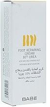 Voňavky, Parfémy, kozmetika Krém na nohy s 10% močovinou - Babe Laboratorios Foot Repairing Cream 10 % Urea