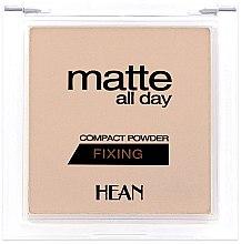 Voňavky, Parfémy, kozmetika Púder na tvár - Hean Matte All Day Compact Powder