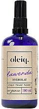 Voňavky, Parfémy, kozmetika Hydrolát z levandule na tvár, telo a vlasy - Oleiq Hydrolat Lavender