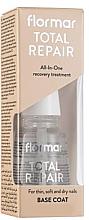 Voňavky, Parfémy, kozmetika Regeneračný lak na nechty - Flormar Total Repair Base Coat