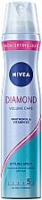 """Voňavky, Parfémy, kozmetika Lak na vlasy """"Objem a lesk"""" extra silná fixácia - Nivea Diamond Volume Care 5"""
