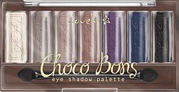 Voňavky, Parfémy, kozmetika Paleta očných tieňov - Lovely Choco Bons