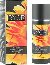 Voňavky, Parfémy, kozmetika Denný krém s kyselinou hyalurónovou a arganovým olejom - Ryor Day Cream With Hyaluronic Acid And Argan Oil