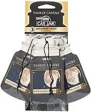 Voňavky, Parfémy, kozmetika Sada osviežovač vzduchu pre auta - Yankee Candle Car Jar Midsummers Night