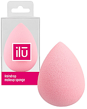 Voňavky, Parfémy, kozmetika Špongia-kvapka na make-up, ružová - Ilu Sponge Raindrop Pink