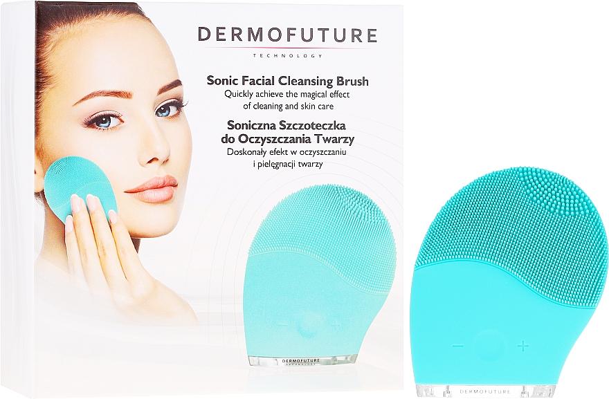 Sonická kefka na tvár, modrá - Dermofuture Technology