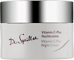 Voňavky, Parfémy, kozmetika Nočný krém na tvár - Dr. Spiller Vitamin C-Plus Night Cream
