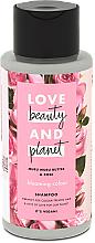 """Voňavky, Parfémy, kozmetika Šampón na vlasy """"Kvitnúci kvet"""" - Love Beauty&Planet Muru Muru Butter & Rose"""
