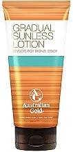 Voňavky, Parfémy, kozmetika Lotion na samoopaľovanie postupného účinku - Australian Gold Gradual Sunless Lotion
