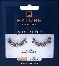 Voňavky, Parfémy, kozmetika Falošné riasy №100 - Eylure Pre-Glued Volume