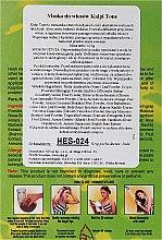 Prášková maska pre tmavé vlasy - Hesh Kalpi Tone Powder — Obrázky N2