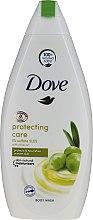 Sprchový gél s olivovým olejom - Dove Protect Care Body Wash — Obrázky N1