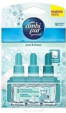 """Voňavky, Parfémy, kozmetika Sada """"Kúsky bavlny"""" - Ambi Pur (refill/3x7ml)"""