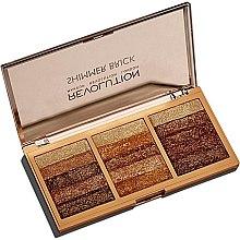 Voňavky, Parfémy, kozmetika Paleta tblietkov na tvár - Makeup Revolution Shimmer Brick Palette