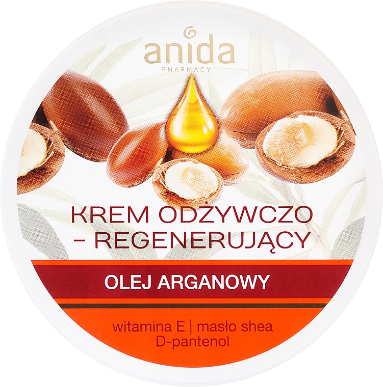 Výživný krém s arganovým olejom - Anida Pharmacy Argan Oil Nourishing Cream