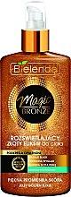Voňavky, Parfémy, kozmetika Svietiace elixír na telo - Bielenda Magic Bronze Illuminating Golden Body Elixir
