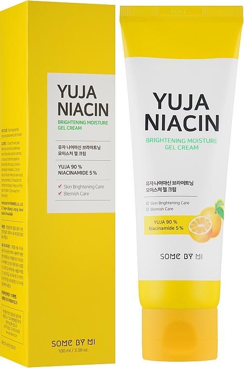 Rozjasňujúci, hydratačný gélový krém na tvár - Some By Mi Brightening Moisture Gel Cream