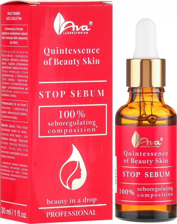 Sérum pre tvár - Ava Laboratorium Quintessence Of Beauty Stop Sebum Serum
