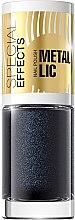 Voňavky, Parfémy, kozmetika Lak na nechty - Eveline Cosmetics Special Effects Metallic Nail Polish