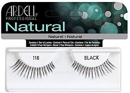 Voňavky, Parfémy, kozmetika Falošné riasy - Ardell Natural Lashes Black 116