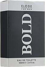 Voňavky, Parfémy, kozmetika Elode Bold - Toaletná voda