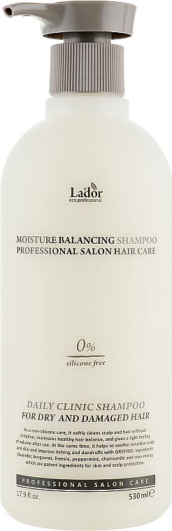 Hydratačný šampón bez obsahu silikónov - La'dor Moisture Balancing Shampoo