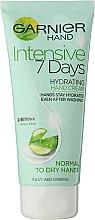 """Voňavky, Parfémy, kozmetika Krém na ruky """"7 dní"""" - Garnier 7 Days Hydration Moisturizing Hand Cream"""