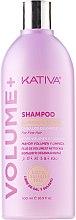 Voňavky, Parfémy, kozmetika Čistiaci šampón pre objem vlasov - Kativa Volume + Shampoo