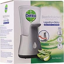 Voňavky, Parfémy, kozmetika Antibakteriálne bezkontaktné mydlo na ruky - Dettol Aloe Vera&Vitamin E