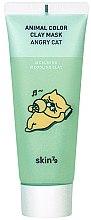 Voňavky, Parfémy, kozmetika Upokojujúca hlinená maska - Skin79 Animal Color Clay Mask Angry Cat