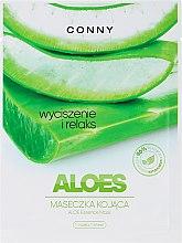 """Voňavky, Parfémy, kozmetika Maska na tvár """"Aloe"""" - Conny Aloe Essence Mask"""